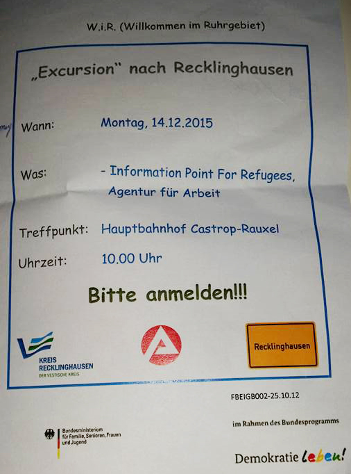 Exkursion Recklinghausen